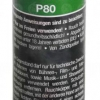 Pyrorauch P80 grün, Reißzündung (SMK-P80-GRE)