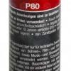 Pyrorauch P80 rot, Reißzündung (SMK-P80-RED)