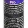 Pyrorauch P80 blau, Reißzündung (SMK-P80-BLU)