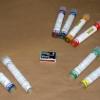 Rauchfackel Mini Smoke 1 Rauchgenerator - Orange