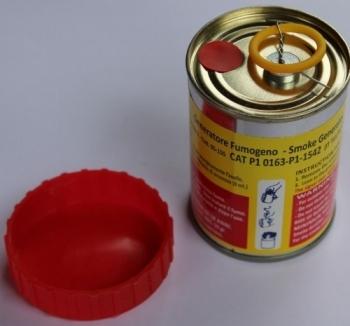 Rauchtopf Rot 1 min - Smoke Generator