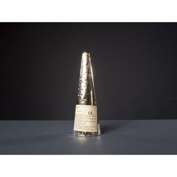 60sec Conic Fountain Gold to Silver