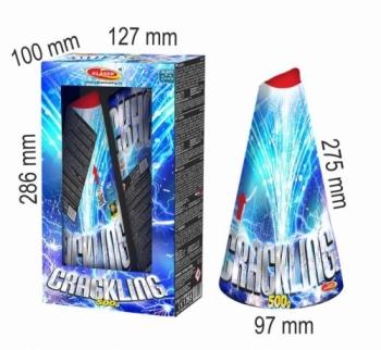 Vulkán 500 g - Crackling