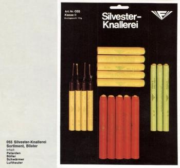 Silvester-Knallerei