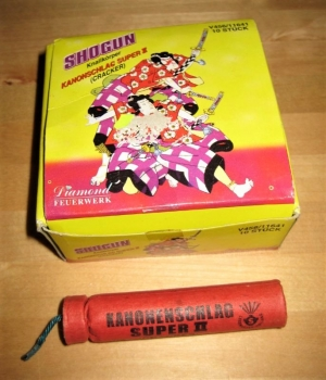 "Kanonenschlag Super II (Cracker) ""Shogun"""