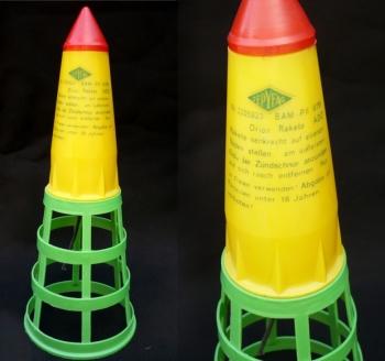 Orion-Rakete (mit Leitwerk)