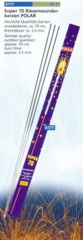 Super 70 Riesenwunderkerzen POLAR