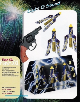 Flash XXL (Raketenpfeifgeschoss mit Leitwerk)