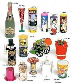 Depyfag Tischbomben-Sortiment aus anno 1982