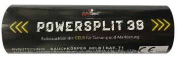 Powersplit 38 (mit Reißzünder 20s, Gelb)