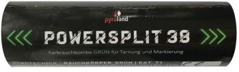 Powersplit 38 (mit Reißzünder 20s, Grün)