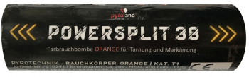 Powersplit 38 (mit Reißzünder 20s, Orange)