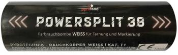 Powersplit 38 (mit Reißzünder 20s, Weiß)