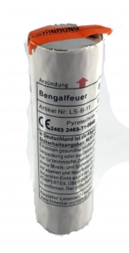 Bengalfeuer Blau