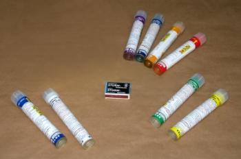 Rauchfackel Mini Smoke 1 Rauchgenerator - Violett