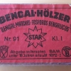 Bengal-Hölzer, rot (Marke STAR) (91)