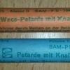 Weco-Petarde mit Knall [Reibkopf]