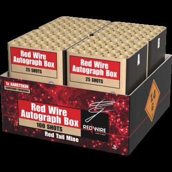 Red Wire Autograph Box