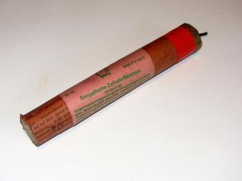 Bengalische Zylinderflammen, Größe II, rot