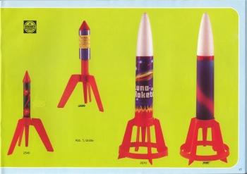 Kosmos-Rakete (Styropor-Variante)