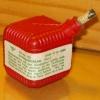Kanonenschlag (kub.) [rotes Plastik) (170)