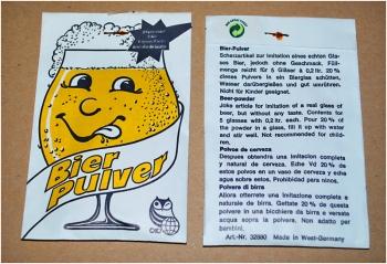 Bier-Pulver (Fa. Abramzik)