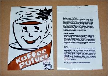 Kaffee-Pulver (Fa. Abramzik)