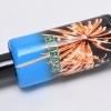 Smaragd (Rakete 256) - blaue Hülse
