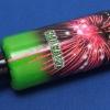 Smaragd (Rakete 256) - grüne Hülse