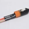 Smaragd (Rakete 256) - gelb-orange Hülse