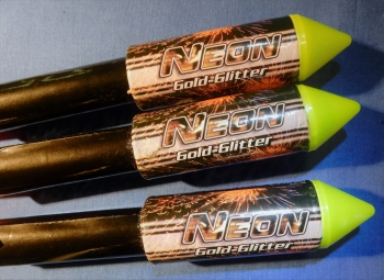 Neon (Gold Glitter Rakete)