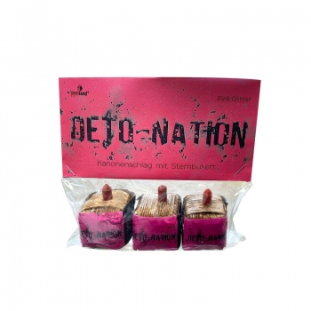 Deto-Nation Pink Glitter