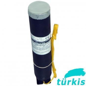 Single Shot 'Europlá', 45 mm, Mines+Blitze türkis