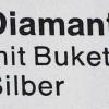 Diamant-Rakete [Hülse silber-pink]