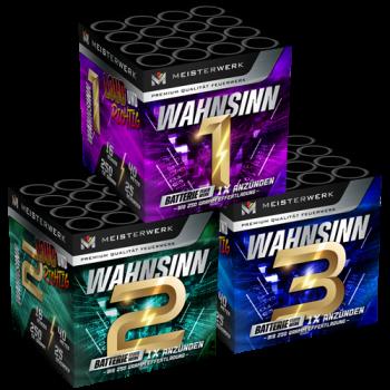 Wahnsinn  [3er Set]