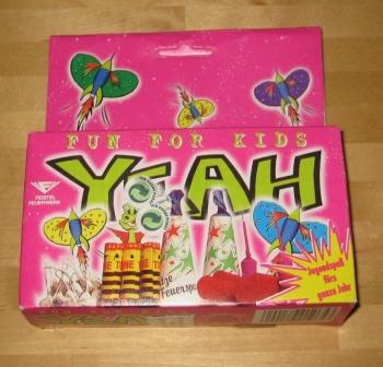 YEAH - Fun for Kids (3 Varianten)