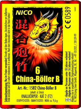 China Böller B