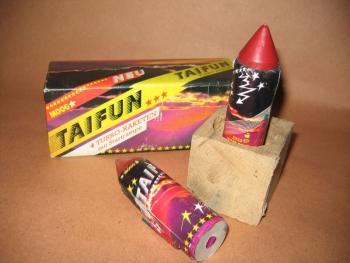 Taifun Turbo-Rakete