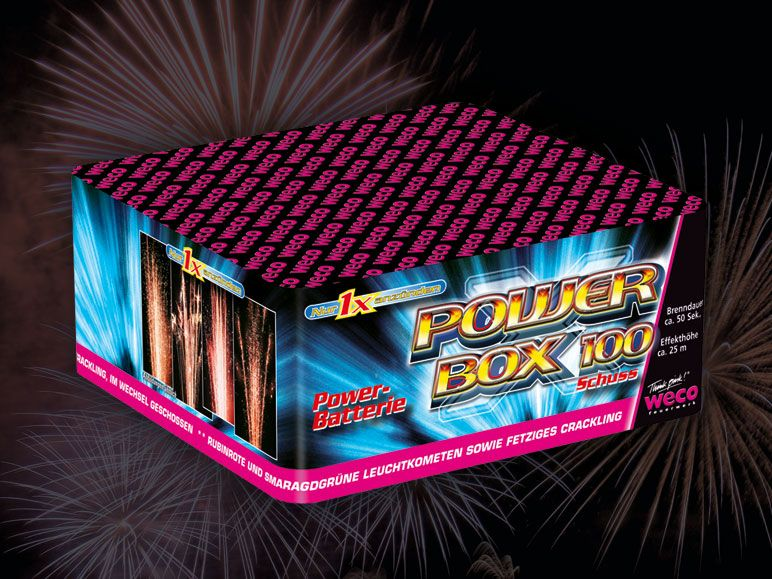 Feuerwerk Datenbank