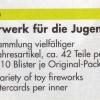 Feuerwerk für die Jugend