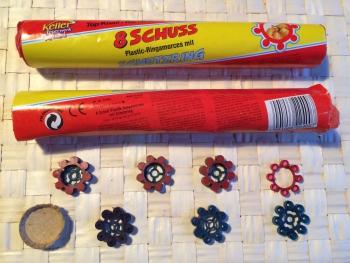 Plastic-Ringamorces (8 Schuss)
