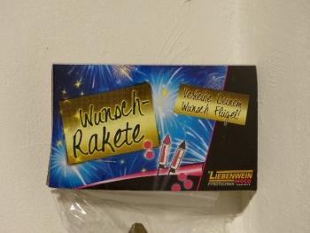 Wunsch Rakete 45g (Österreich)