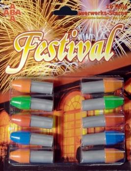 Festival Feuerwerkssterne