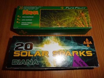 Solar Sparks / Goldflimmer Diana