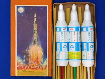 Apollo-Rakete (Styropor)