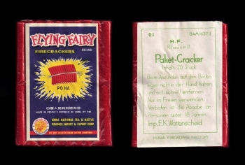 Paket-Cracker 20 Schuss (Flying Fairy Brand)