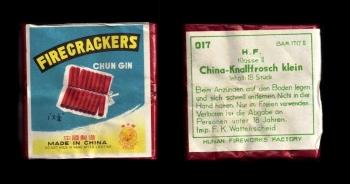 China-Knallfrosch klein (Flying Fairy Brand)
