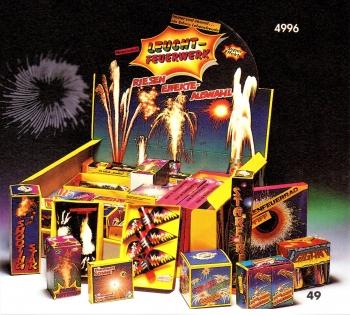 Leuchtfeuerwerk (Verkaufsaufsteller)